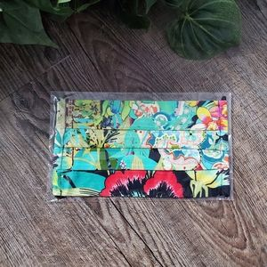 Johnny Was Floral Face Mask Signature Print Boho